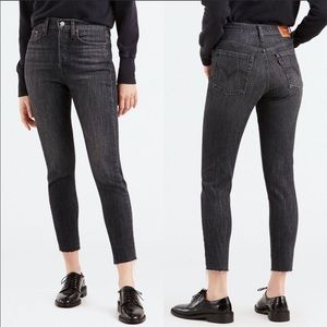 Levi's Wedgie Skinny High Rise Ankle Jeans Size 32